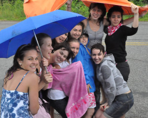 ILI Italian Students Tubing Umbrella