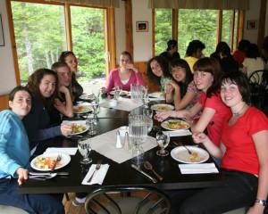 ILI Italian Student Dinner at Wilderness Resort