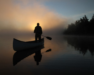ILI Misty Morning Canoe