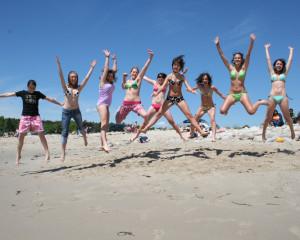 ILI Social Activities At the Beach