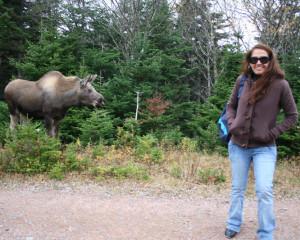 ILI Student & Moose!